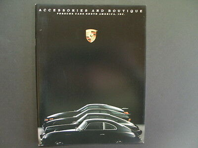*NEW CONDITION* - PORSCHE 1990 911 944 928 ACCESSORIES BOUTIQUE Sales Brochure