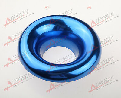 """3.5"""" Universal Velocity Stack For Cold/ram Engine Air Intake/turbo Horn Blue"""