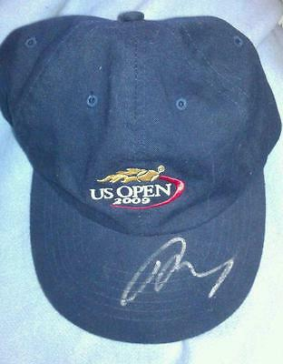 Andy Murray autographed signed tennis hat