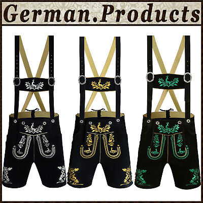 Authentic Trachten German Bavarian Oktoberfest Men's Wear Short Kurze Lederhosen