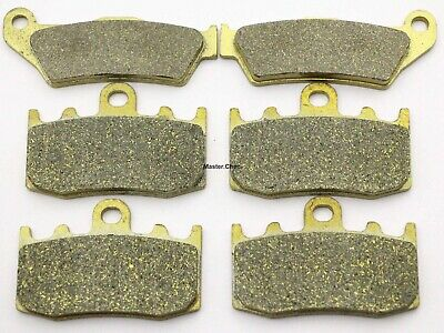 Front Rear Brake Pads For BMW R 1200 R1200 GS R1200GS Adventure 2008 2009 Brakes