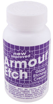 Armour Products Etch Glass Etching Cream 10 oz 0.28 kg
