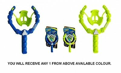 Wham O Aqua Force 'Slingshot' Blue, Lime Assorted with 50 Water Balloons Gift