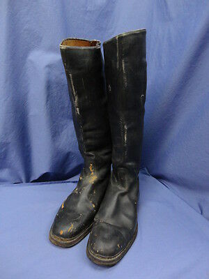 GERMAN WWII Leather High Jack Boots