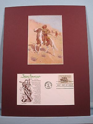 """The Scout"" painted by Frederic Remington  & First Day Cover"