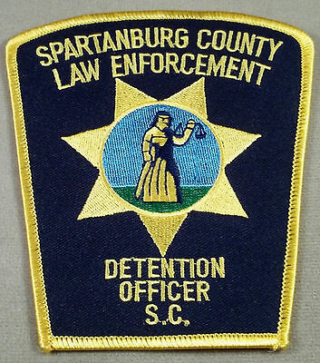 Spartanburg County South Carolina Detention Officer Patch