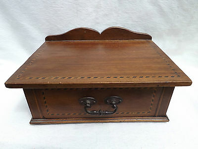 VINTAGE  WOODEN   BOX  very nice decorated,  in great condition