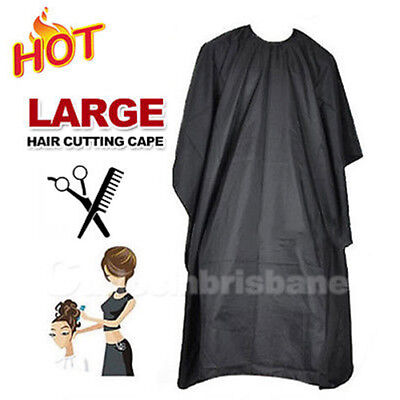 AU Hair Cut Cape Pro Salon Styling Cutting Hair Barber Hairdressing Gown Cloth
