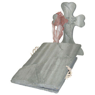 Cemetary Kit with Escaping Skeleton Halloween Prop Sunstar Industries 81325