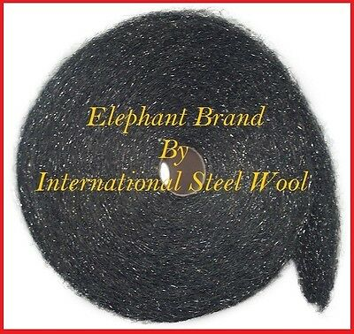 25 lb Case Steel Wool Rolls, Grade #3 Coarse