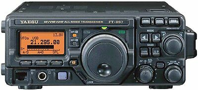 Yaesu Ft-897 Ft897 Hf Vhf Uhf Transceiver Radio Technical Service Repair Manual