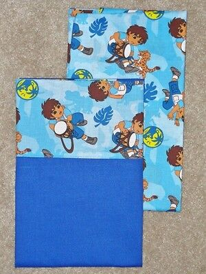 Crib/toddler Sheet 2Pc Set/cotton/handmade  - Diago The Explorer And Friends