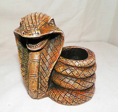 New Cobra Snake Pencil Pen Holder Paper Clip Decoration Collectible Awesome