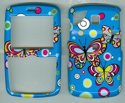 Blue Butterfly HARD COVER CASE PANTECH REVEAL C790 AT&T