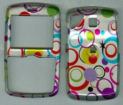 Silver Multi Pattern HARD COVER CASE PANTECH REVEAL C790 AT&T
