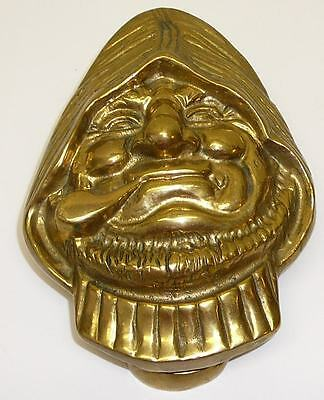 Solid Brass Door Knocker Jolly Ole Fisherman Old Man Sea Nautical Hemingway