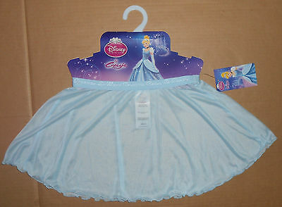 NWT Capezio by Disney Girls S/M Ballet Pull On Skirt Blue DPR316C Micromesh