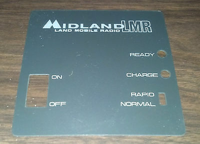 NEW Old Stock OEM Midland LMR Rapid Rate Charger Faceplate Cover 70-C11 70-C48