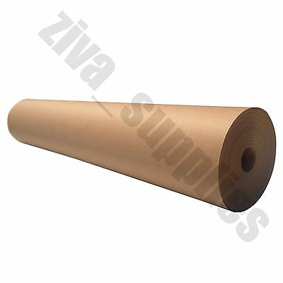 BROWN KRAFT WRAPPING PAPER(750mm Roll)(50 metres)Strong Parcel Wraping Posting
