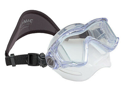 Oceanic ION3x Scuba Diving, Free Diving, Snorkeling Mask Ice/Blue
