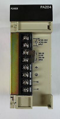 ORMON C200HW-PA204 Power Supply Unit **XLNT** AC 100-120/200-240V 120VA