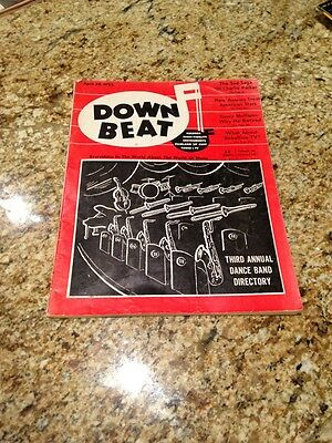 Down Beat April 20, 1955 Third Annual Dance Band Directory