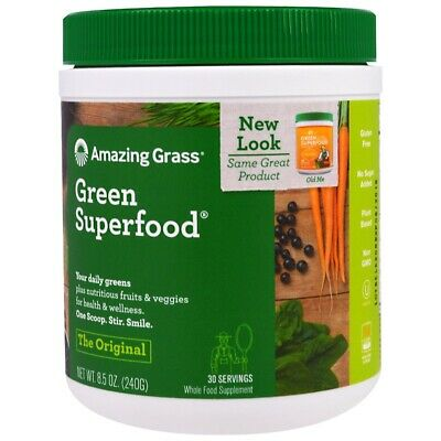 Organic Super food Formula with Broccoli Extract, Spinich, Beetroot +more - 240g