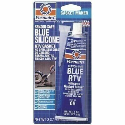 Permatex 80022 3 Ounce Blue RTV Silicone Gasket Maker