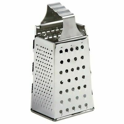 """Norpro 327 8.5"""" x 4.5"""" Stainless Steel 6-Sided Cheese Grater"""