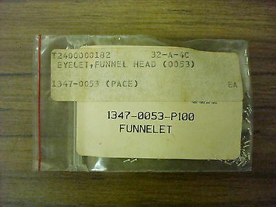 Pace Funnelet 1347-0053-P100 (pack of 100) 1347-0053 *NOS*