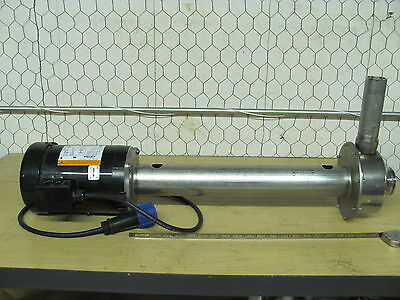 Emerson BM57A Motor, 2HP/ Stainless Steel Pump