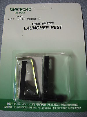 Bear Archery Bow Hunting Kinetronic Speed Master Launcher Arrow Rest RH or LH