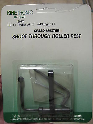 Bear Archery Bow Hunting Kinetronic Speed Master Roller Arrow Rest RH or LH