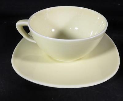 Taylor Smith & Taylor Conversation Yellow Cup & Saucer