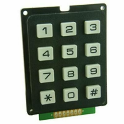 Matrixed 3x4 Keypad (Door Entry etc)