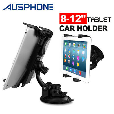 Universal Car Suction Mount Holder For Samsung Galaxy Tab 4│Tab A│Tab S│Tab S2