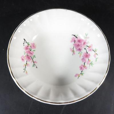 "W. S. George Peach Blossom 6-1/4"" Coupe Cereal Bowl"