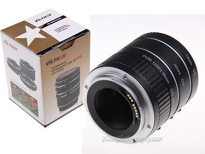 Auto Focus Macro Extension Tube for CANON EOS EF EF-S T5i T4i 7D 6D 5D Mark III