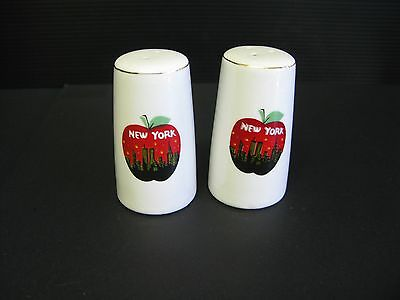 "Set Of ""New York"" Salt And Pepper Shakers"