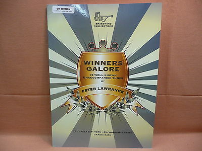 Winners Galore with CD Backing TC Eb/F Horn Eb bass Tuba treble clef