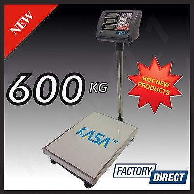 600KG ELECTRONIC DIGITAL Computing PRICE SCALE Weight Shop Postal Industrial