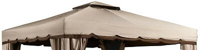 Replacement Roof with Elastics&Hooks (FABRIC ONLY) for 10'X12' Gazebo  PTPDE