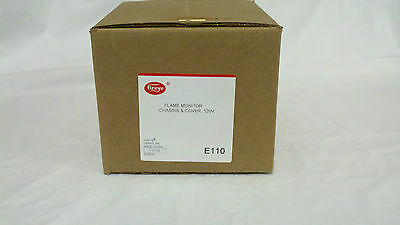 NEW FACTORY SEALED Fireye E110 Flame Safe Chassis - FULL WARRANTY AND APPROVALS