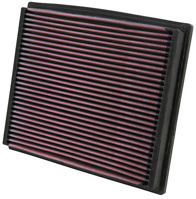 K&N Air Filter Element 33-2125 (Performance Replacement Panel Air Filter)