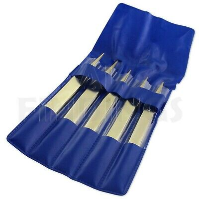SET 5 Brass Tweezer Non-Magnetic Jewellery Watch  Repair Tweezers Solder Tool