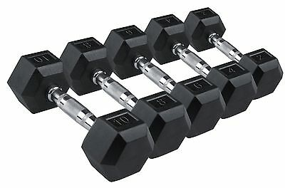Dumbbells Hex 5kg 10kg 15kg  Free Weights Gym Fitness Training Dumbbell Home Gym