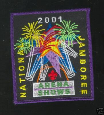 2001 National Jamboree Arena Shows