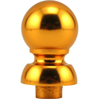 Gold Ball Top Finial For Draft Beer Tap Handle-Kegerator Faucet Replacement Part