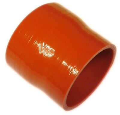 "RED Silicone Hose 76mm to 70mm Straight Reducer (Silicon) 3"" to 2.75"" (76-70mm)"