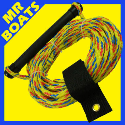 WATER SKI WAKEBOARD Rope 75ft Comfortable Handle EXCELLENT QUALITY ✱ BRAND NEW ✱